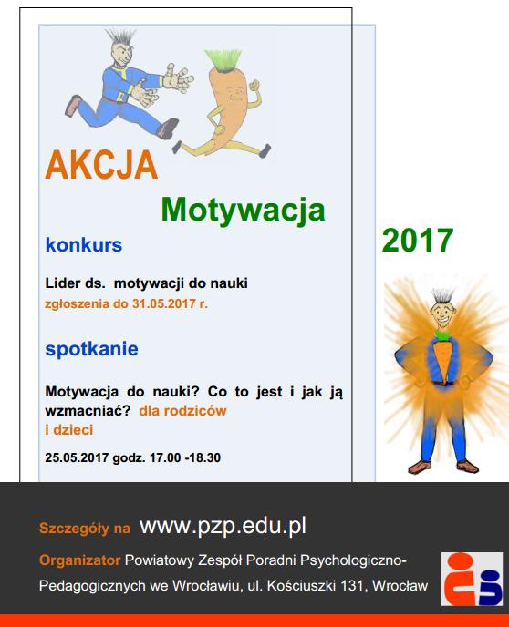 Akcjamotywacja 2017 Powiatowy Zespół Poradni Psychologiczno